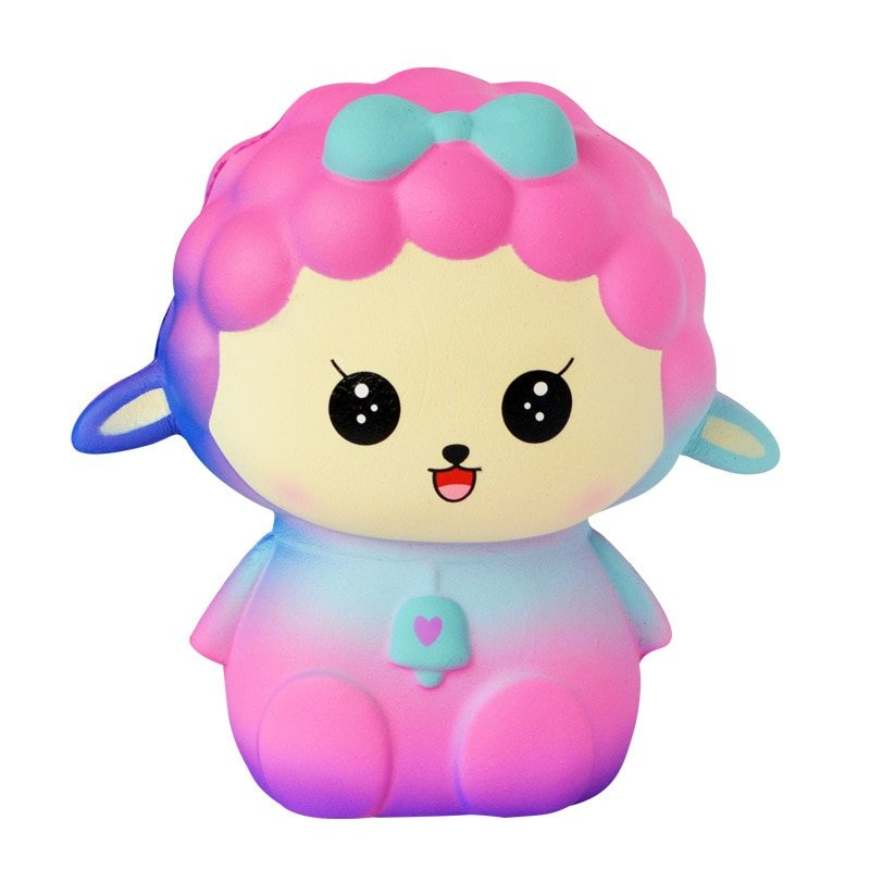 Kawaii Cute Galaxy Sheep Squishy Toys